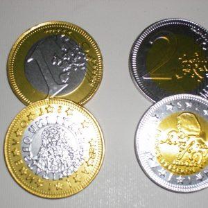 Čokoladni Cekini-Zlatniki In Srebrniki 3