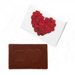 Čokoladna Kartica Srce