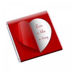 Čokolda 5g Srce